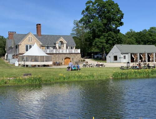 Enjoy a fall ride to the Bistro at Chamard Vineyards in Clinton, CT
